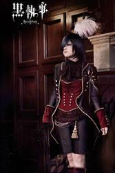 Ciel: Earl Phantomhive by bekalou-cosplay