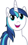 Shining Armor likes what he sees