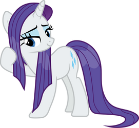 Wet Mane Rarity by FrownFactory