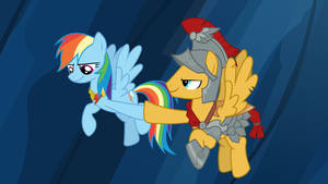 Rainbow and Flash Magnus