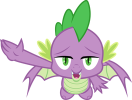 Flying Spike by FrownFactory