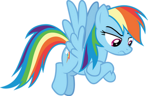 Rainbow disapproves by FrownFactory