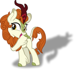 Autumn Blaze+Silhouette Gloom of the Sundown Lands