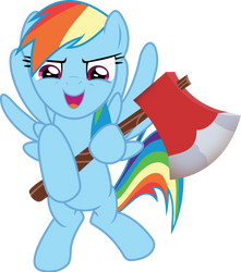 Here's Rainbow by FrownFactory