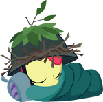 Apple Bloom sleeping