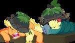 Applejack and Apple Bloom