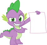 Spike with an exploitable poster