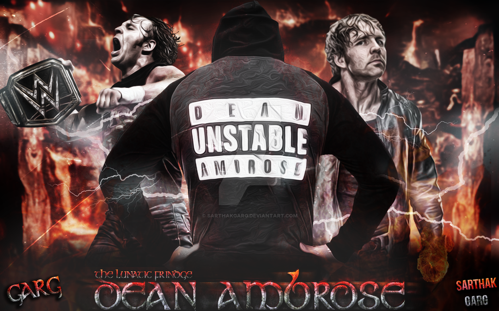 Dean Ambrose Wallpaper By SarthakGarg