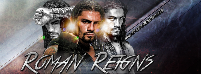 Roman Reigns Facebook Cover by SarthakGarg on DeviantArt