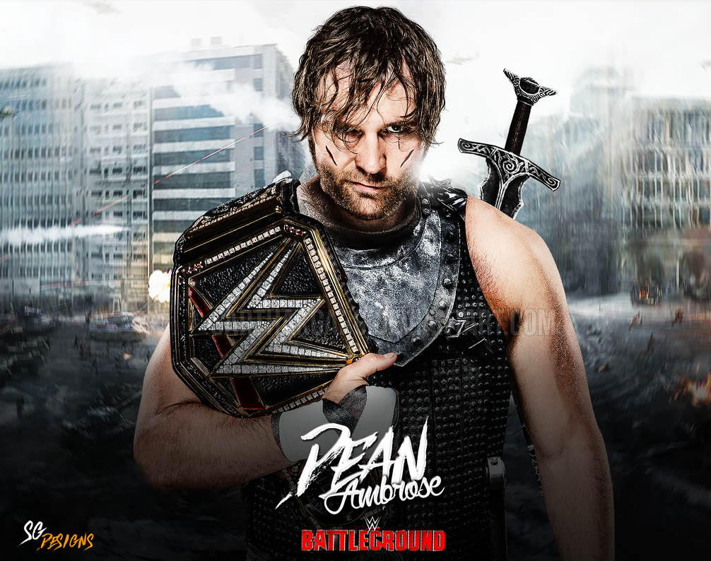 Dean Ambrose Warrior Wallpaper