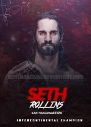 Seth Rollins Poster 2018 by SarthakGarg
