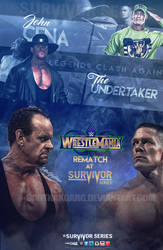 John Cena vs The Undertaker Wrestlemania Rematch by SarthakGarg