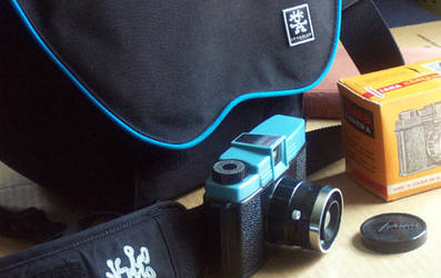 My new, old Diana camera by BluMan
