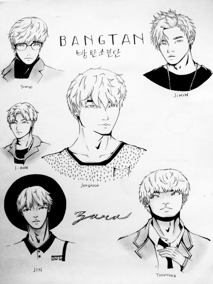 Bangtan Boys by ReoAkamine