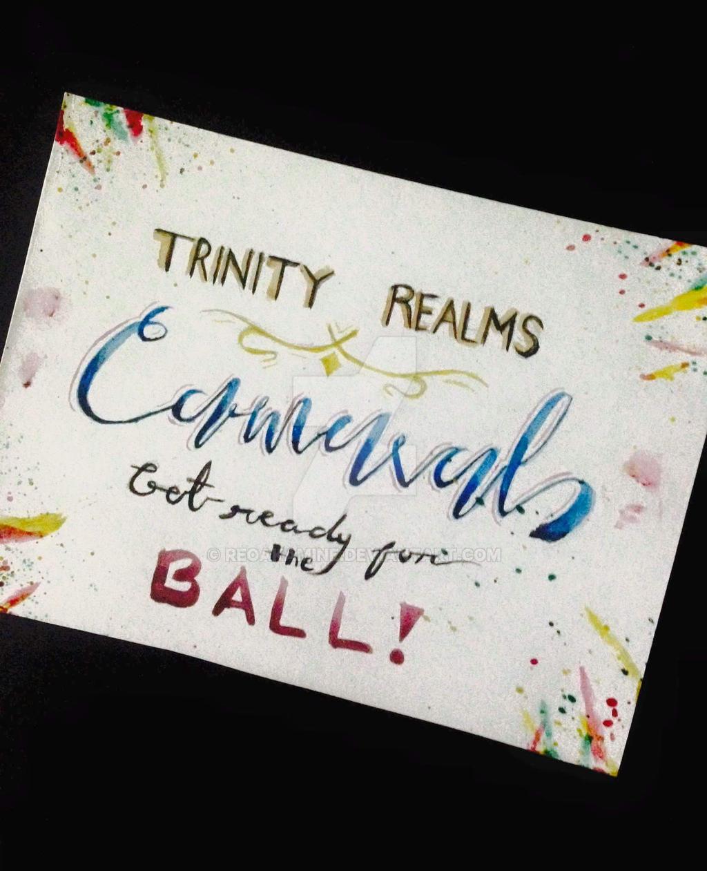 Trinity Realms Carnaval Invitation by ReoAkamine