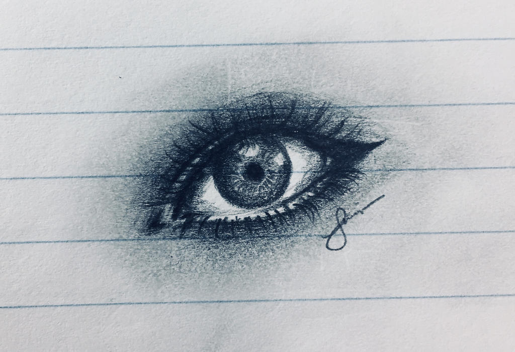 Quick Realistic Eye Practice by ReoAkamine