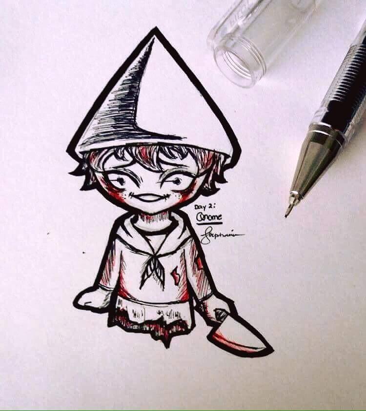 Killer Gnome (Inktober) by ReoAkamine