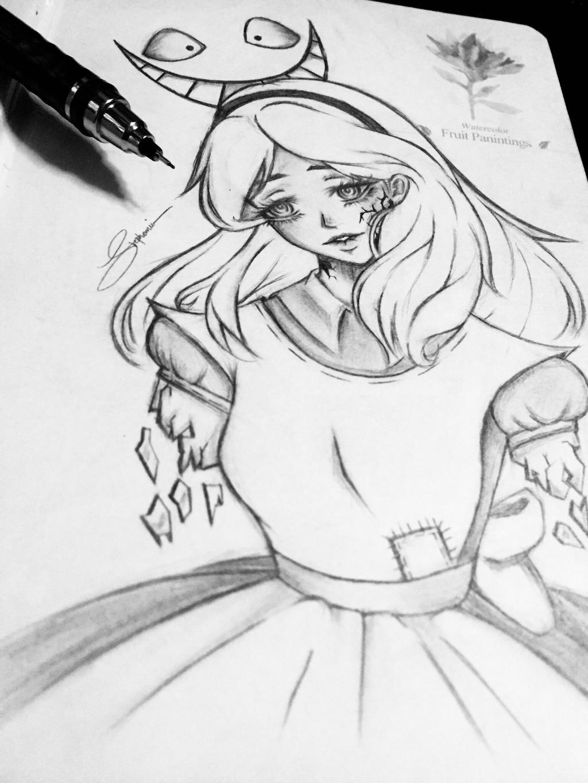 Broken Mad Alice by ReoAkamine