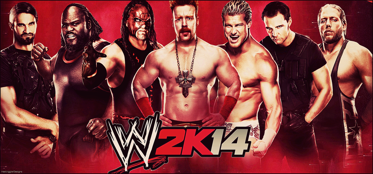 wwe 2k14 wallpaperheelzigglerdesigns on deviantart