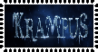Krampus stamp by Toothy-the-Skunkcoon