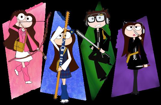 Poptropica Heroes: Team BW