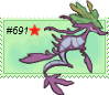 Shiny Dragalge Stamp