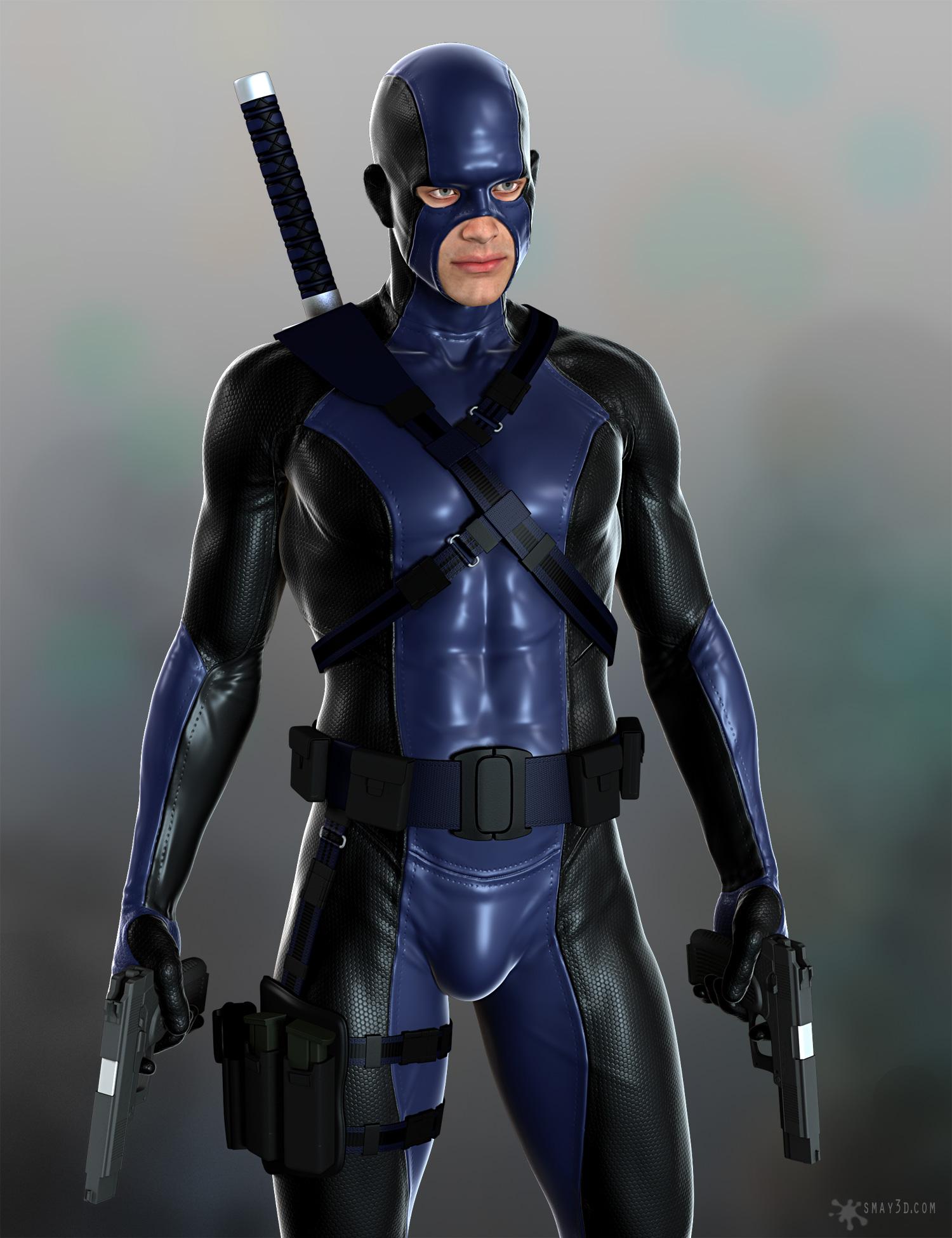 Super hero suit m6 01 by smay3d on deviantart - Moderne oudersuite ...