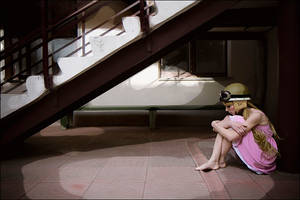 Shinobu - Alone As Usual by scentless-flower