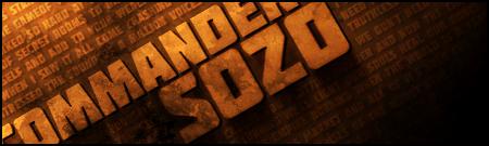 Sozo's Typo-Grunge Signature by commandersozo