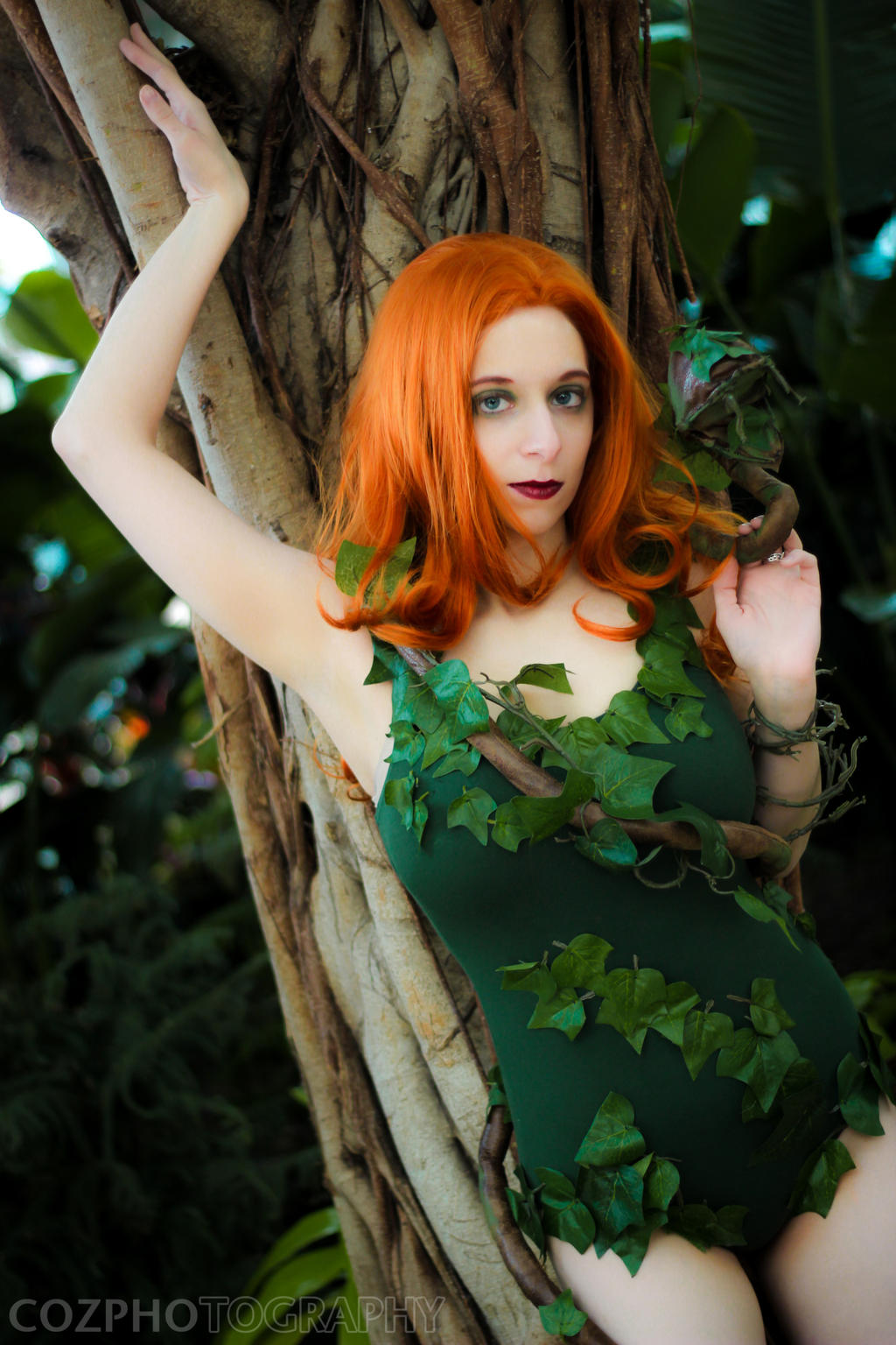 Poison Ivy: On The Trees by StormWildcat