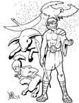 Greek Myths-The Gods-Zeus' Metamorphoses