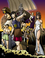 Greek Myths-The Argonauts (color) by Coyotzin