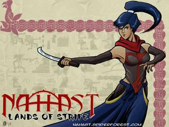 Nahast - Derrexi Sword Dancing by Coyotzin