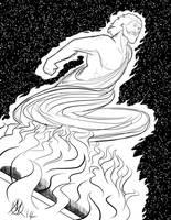 Greek Myths-Hercules the God by Coyotzin