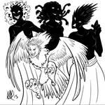 Greek Myths-Harpy and Erinyes