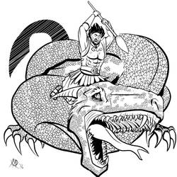 Greek Myths - Oedipus - Cadmus and the Dragon