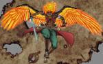 DnD Irakis, Mystic Bladesinger by Coyotzin