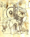 FOE Playing Card Concept Apple Jack Version 2