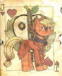 Apple Jack of Hearts Fallout Equestria