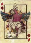 Ace of Diamonds Twilight Sparkle FOE Playing Card