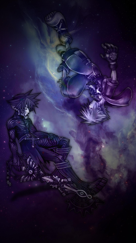Sora And Vanitas Kingdom Hearts Iphone Wallpaper By Judah2x0 On Deviantart