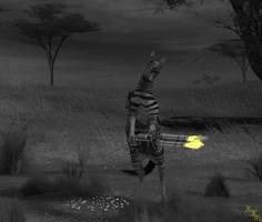 Bad Day Zebra