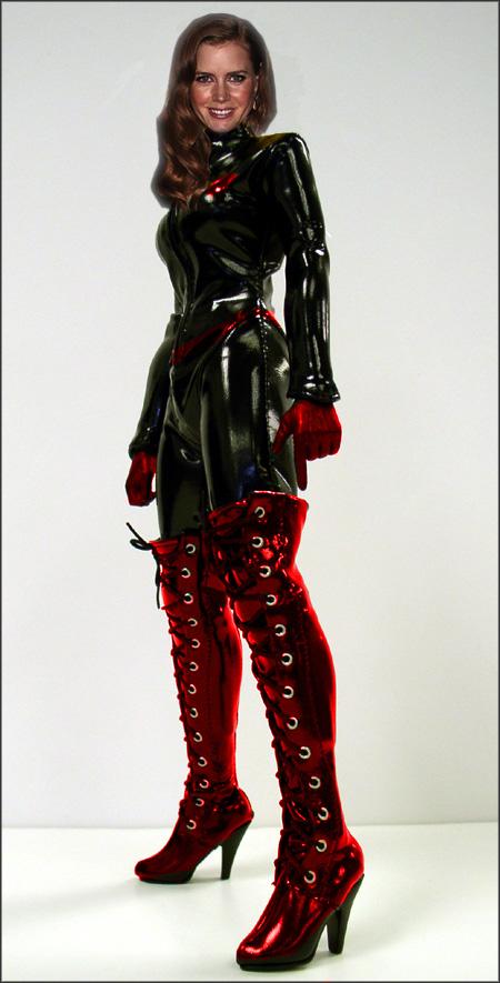 Amy Adams as AK Girl by polycomical