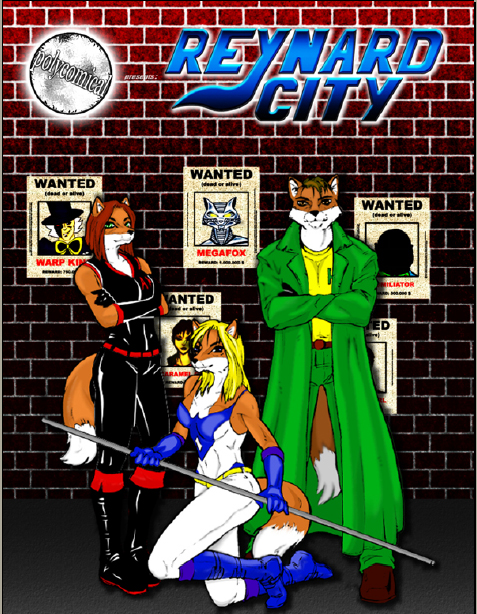 Reynard City Issue 1 now available in print! by polycomical