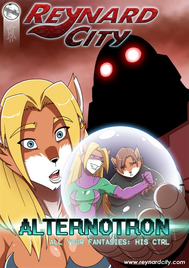 Alternotron art card by polycomical