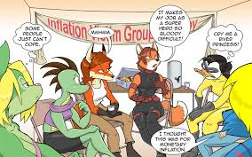 Writing Prompt 21: Group Therapy by polycomical