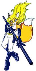 Wondervixen Metalpandora/Thunderaxewarrior by polycomical