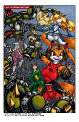 Reynard City Chronicles Issue 1 preview by polycomical