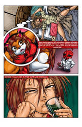 Reynard City Chronicles Issue 1 preview Pg 4 by polycomical