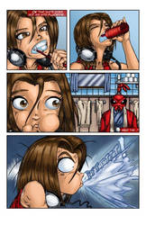 Reynard City Chronicles Issue 1 pg 5 preview by polycomical